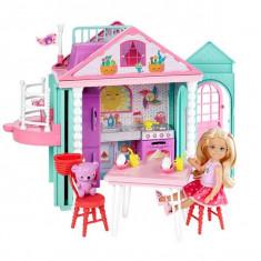 Jucarie Casa Barbie Clubul lui Chelsea Playhouse DWJ50 Mattel - Papusa