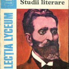LICHIDARE-Studii literare - Autor : G.Ibralianu - 50175 - Studiu literar