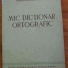LICHIDARE-Mic dictionar ortografic - Autor : - - 72925 - Enciclopedie