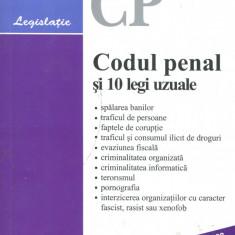 LICHIDARE-Codul penal si 10 legi uzuale - Autor : - - 96961 - Carte Drept penal