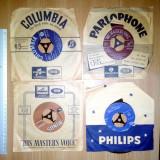 LOT 5 VINIL / DISC MUZICA GRECEASCA - COLUMBIA, HIS MASTER, PARLOPHONE, PHILIPS..