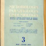 LICHIDARE-Microbiologia, parazitologica, epidemiologia, nr. 3 mai- iunie 1963 - Autor : - - 152324