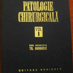 LICHIDARE-Patologie chirurgicala- vol.I - Autor : Th. Burghele - 76437 - Carte Chirurgie