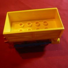Jucarie- Vagon de Cale Ferata, plastic, ecartament= 4, 5 cm, L= 12 cm - Vehicul