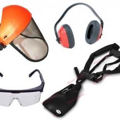 Set accesorii motocoasa (casca protectie, ochelari, ham, casca antifonica)