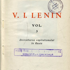 LICHIDARE-Opere- vol.3- Lenin - Autor : Lenin - 98235 - Carte Politica