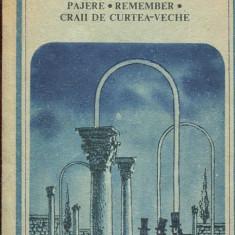 LICHIDARE-Pajere, Remember, Craii de curtea-veche - Autor : Mateiu I. Caragiale - 105269 - Carte de colectie