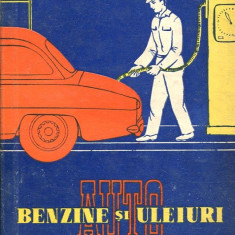 LICHIDARE-Benzine si uleiuri auto - Autor : T. Sandulescu - 110115 - Carti auto