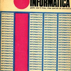 LICHIDARE-Informatica pentru anul II liceu, clase speciale de informatica - Autor : M. Lovin - 89503 - Carte Informatica