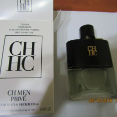 PARFUM TESTER C.H MEN PRIVE --100 ML -SUPER PRET, SUPER CALITATE! - Parfum barbati Carolina Herrera, Apa de toaleta