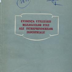 LICHIDARE-Evidenta utilizarii mijloacelor fixe ale intreprinderilor industriale - Autor : M. V. Dimitriev - 84279 - Carte Contabilitate