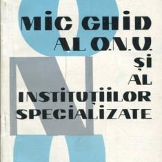 LICHIDARE-Mic ghid al O.N.U si al institutiilor specializate - Autor : Cristian Popisteanu - 89948 - Carte Drept penal