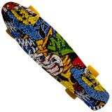 Penny Board Action® ABEC-7, Arlequin - Skateboard