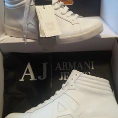 Adidasi / Sneakers Armani Jeans - Adidasi barbati Armani, Marime: 43, Culoare: Alb