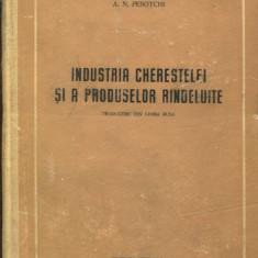 LICHIDARE-Industria cherestelei si a produselor rindeluite - Autor : A. N. Pesotchi - 85409 - Carti Constructii