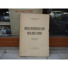 Controlul constitutionalitatii legilor in dreptul roman si comparat, Al. Valeanu, 1936 - Carte Drept constitutional