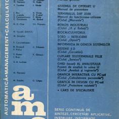 LICHIDARE-Automatica. Management. Calculatoare- vol. 54 - Autor : A. Davidoviciu - 60374 - Carti Automatica