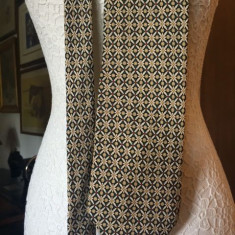 Cravata HENRY MORELL matase, Culoare: Din imagine