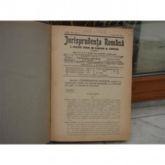 Jurisprudenta romana a inaltei curti de casatie si justitie anul XIV nr.1, Drept, 1927 - Carte Drept procesual civil