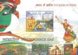 India 2016 - Bloc Ziua Independentei neuzat,perfecta stare(z), Nestampilat