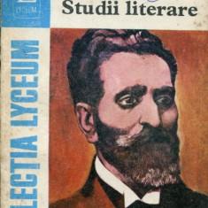 LICHIDARE-Studii literare - Autor : G.Ibraileanu - 52653 - Studiu literar