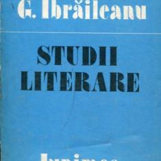 LICHIDARE-Studii literare- Ibraileanu - Autor : G. Ibraileanu - 87461 - Studiu literar