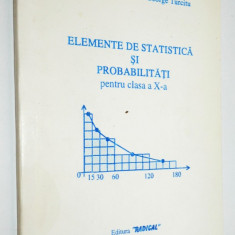 Elemente de statistica si probabilitati pentru clasa a X-a