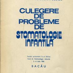 LICHIDARE-Culegere de probleme de stomatologie infantila- 2-6 iulie 1985 - Autor : - - 132852