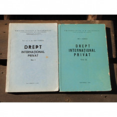 DREPT INTERNATIONAL PRIVAT - ION P. FILIPESCU 2 VOLUME - Carte Drept international
