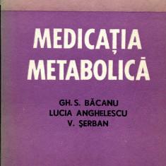 LICHIDARE-Medicatia metabolica - Autor : Gh. S. Bacanu - 65966