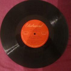 Disc ebonita, Patefon