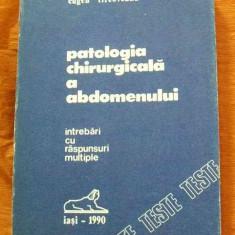 LICHIDARE-Patologia chirurgicala a abdomenului - Autor : V. Strat - 75263 - Carte Chirurgie