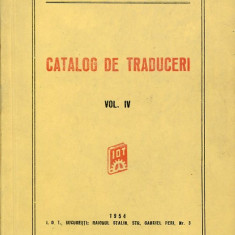 LICHIDARE-Catalog de traduceri- vol.IV - Autor : - - 86247 - Carti Constructii