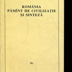 LICHIDARE-Romania, pamant de civilizatie si sinteza - Autor : Dan Zamfirescu - 135838 - Carte Politica