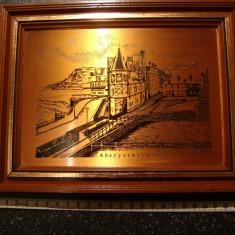Tablou cupru /lucrare in relief /copper craft /vintage /Pleasure Reproductions - Arta din Metal