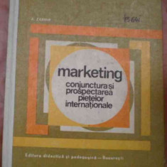 LICHIDARE-Marketing conjuctura si prospectarea pietelor internationale - Autor : A. Zamfir - 85508 - Carte Marketing