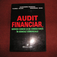Audit financiar servicii conexe si de consultanta in banci- Al. Rusovici - Carte Contabilitate