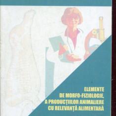 LICHIDARE-Elemente de morfo-fiziologie, a productiilor animaliere cu relevanta alimentara - Autor : G. Cotor - 115480 - Carti Industrie alimentara