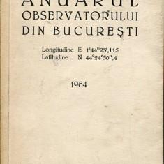 LICHIDARE-Anuarul observatorului din Bucuresti - Autor : - - 109410 - Carte Geografie