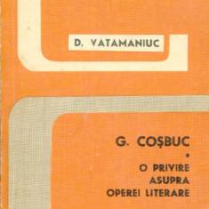 LICHIDARE-G. Cosbuc- o privire asupra operei literare - Autor : D.vatamaniuc - 90275 - Studiu literar
