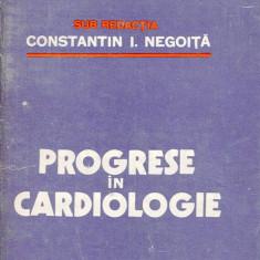 LICHIDARE-Progrese in cardiologie - Autor : Constantin I. Negoita - 76251 - Carte Cardiologie