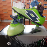 GHETE FOTBAL  LOTTO F POWER ZHERO GRAVITY GREEN FG MARIME 42