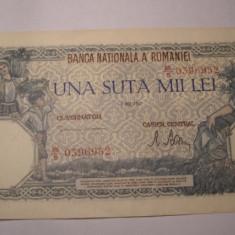 100000 lei 1947 Mai AUNC