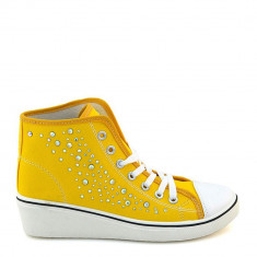 Pantofi sport dama Ivy galbeni - Adidasi dama