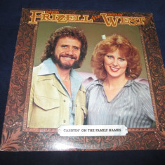 David Frizzell & Shelly West - Carryin' On The Family Names_vinyl, LP, SUA - Muzica Country warner, VINIL