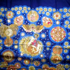 ESARFA HERMES, LE ROY SOLEIL - Esarfa, Sal Dama Hermes, Culoare: Albastru, Marime: Masura unica
