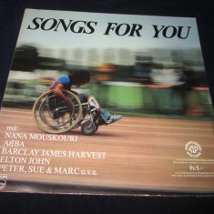 Various - Songs For You _ vinyl, LP, (Philips)Elvetia - Muzica Pop Altele, VINIL