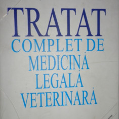 Tratat complet de medicina legala veterinara an 2001- Traian Enache (dedicatie - Carte Medicina veterinara