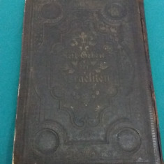 MACHSOR*RUGĂCIUNILE EVREILOR/ S.G. STERN/ VIENA/1904 - Carti Iudaism