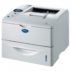Imprimanta BROTHER HL-6050DN, 24 PPM, Duplex, Retea, USB, Parallel, 1200 x 1200, Laser, Monocrom, A4 - Imprimanta laser alb negru
